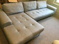 Made Grey Corner Sofa