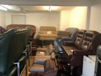 Ex gillies quality second hand leather italion suites