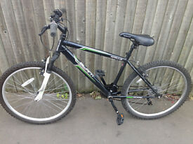 Mountain bike Apollo Slant bicycle with front suspension equipped shimano