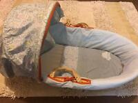 Mothercare Moses basket & extras