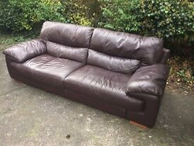 3 seater leather sofa delivery today