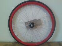 NEW Front Wheel 700C Road Racer Racing Fixie Single Speed Bike Tyre Inner Tube