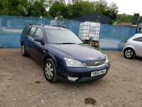 55 PLATE FORD MONDEO ESTATE. 2 LITRE TDCI TURBO DIESEL.