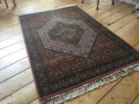 Vintage Turkoman Rug. New wool pile. Immaculate.