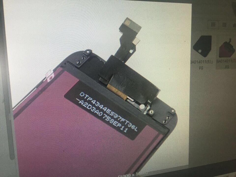 STK-Reparatur: iPhone 5s Displayeinheit (lcd/touch/Glas) Tausch in Kalkar