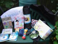 Bundle of baby stuff, variety, most of them are NEW