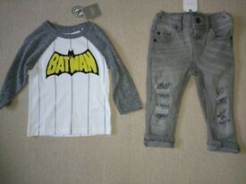(New) baby clothes range from 0-12 months
