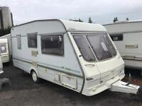 Late 90s SWIFT classic dutte 2 berth lightweight elddis abi caravan must clear over 200 in stock