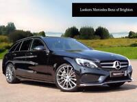 Mercedes-Benz C Class C250 D AMG LINE PREMIUM PLUS (black) 2015-09-28