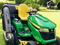 "John Deere X584 Ride On Mower - 48"" Deck - Lawnmower - countax/Westwood/Honda/Kubota"