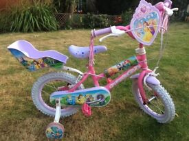 Girls Disney Princess Bike. Great Condition