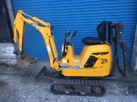 JCB 8008 mini micro digger excavator