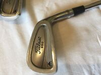 Titleist 990 DCI 3-PW Full Set Golf Irons with Golf Pride Grip