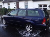 Ford FOCUS LX Estate 2001. Diesel