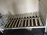 Double bed frame and lats