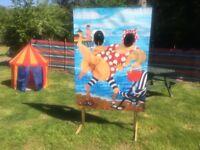Retro Pier/Beach/Festival Head in the Hole - Homemade!