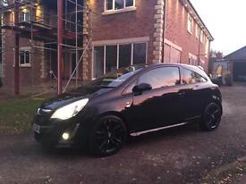 Vauxhall Corsa Limited Edition Black 1.2 16v HPI CLEAR