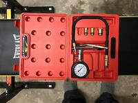 Air compression test kit