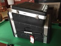 Gator Mixer and Rack Flight Case - 6u bottom and 10u mixer top - little used