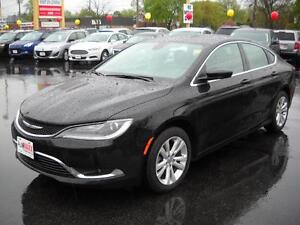 2016 CHRYSLER 200 LIMITED - BLUETOOTH, U-CONNECT, HEATED FRONT S