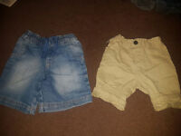 Pair of Boys Shorts 2/3y REDUCED