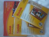 Kodak photo paper x 3 packs