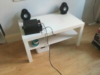 White Lac Ikea coffee table
