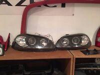 Honda Civic EK PreFacelift Angel Eye Headlights EJ9 EK3 EK4 EK9