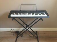 Casio CTK-1150 Electric Keyboard Stand & Headphones - £60 ono