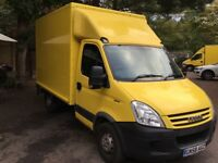 TEL 07793097126 IVECO DAILY BOX VAN 08 /58 REG 2 OWNER EXCELLENT EXAMPLE £4495 NO VAT ,YEARS MOT