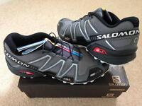 Brand New Boxed Salomon 3 Speedcross ClimaShield Hiking Shoe (Boxed U.K 10.5)