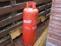 Propane gas cylinder, 47Kg.