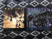 Bon jovi vinyl - records - 2 albums
