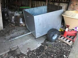 Atv/quad sheep trailer