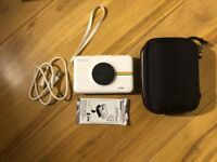 Polaroid Instant snaptouch Instant print digital LCD camera- White+ accessories