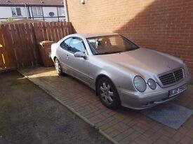 2001 Mercedes coupe £950