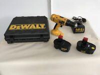 DeWalt 18v cordless hammer drill DW-997