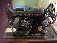 Singer sewing Machine, working collection only