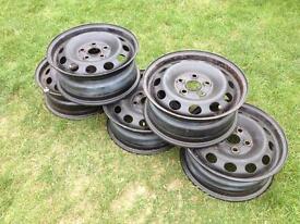 VW Ford Seat Steel Wheels