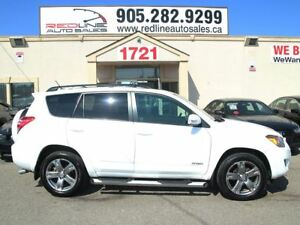 2010 Toyota RAV4 4x4, Leather, Sunroof, WE APPROVE ALL CREDIT
