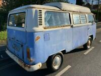 VW T2 Dormobile - Tax & MOT Except- Starts and drives - great project