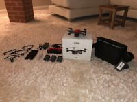 Almost brand new DJI Spark fly more combo for sale with additional (3 in total) battery plus extras