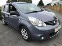NISSAN NOTE 1.4 VISIA 2009 ***MOT NOVEMBER 2018***