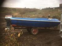 Dory boat,engine and trailer first person with £300 can take it away