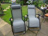 2 x Quest Fully Reclining Chairs