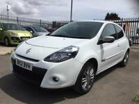 2012 Renault Clio 1.2 petrol 3 door hatchback 12 month mot genuine low mileage