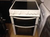 White electric 60cm cooker