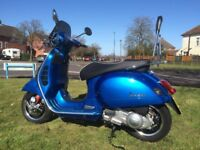 Vespa GTS 300 For Sale Excellent Condition Only 1,500 Miles Registered Sept 2014