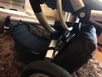 Blue Quinny buzz pushchair