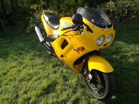 Triumph Daytona 900 1994 in excellent condition VERY low mileage